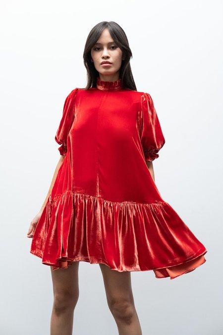 Kurt Lyle Jesperia Dress - Flame
