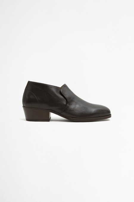 Lemaire Low Boots - Midnight Brown