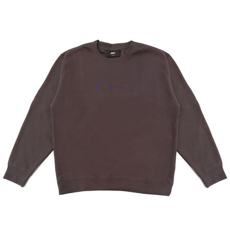 Obey Nouvelle II Crewneck sweater - Brown