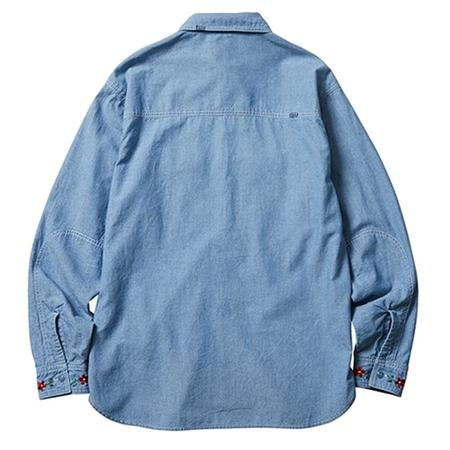Liberaiders Peace Chambray Shirt - Blue