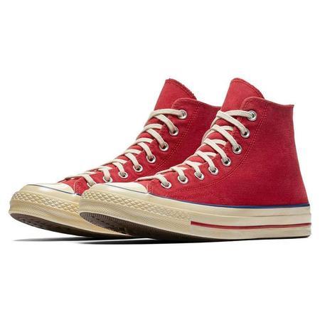 Converse Chuck 70 Hi Sneaker - Red Blue Rose
