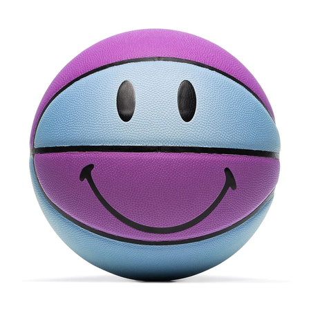 Chinatown Market Smiley UV Basketball - Purple / Blue