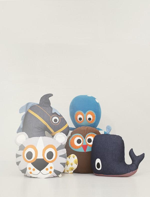 Kid's Ferm Living Octopus Cushion