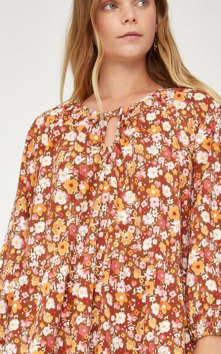 Lacausa Berkeley Dress - Clay Foral