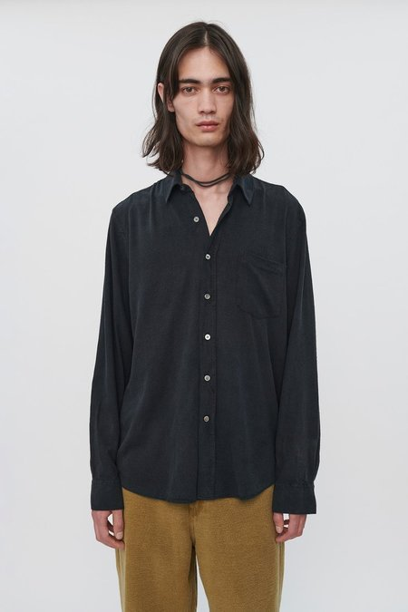 Our Legacy Classic Shirt - Black Silk