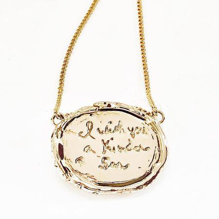 Melissa De La Fuente Kinder Sea Necklace