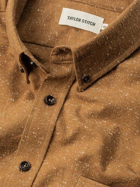 Taylor Stitch The Jack Shirt - British Khaki Donegal