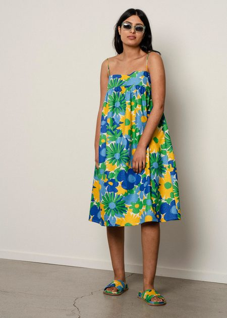 Penny Sage Hana dress - Wildflower