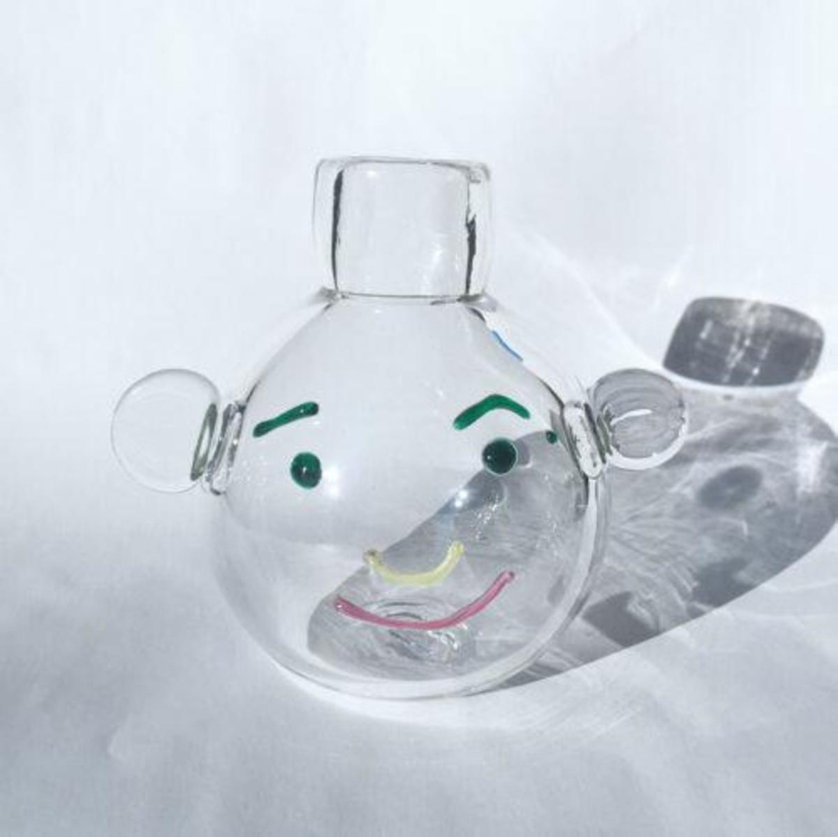 One of a Kind Face Vase