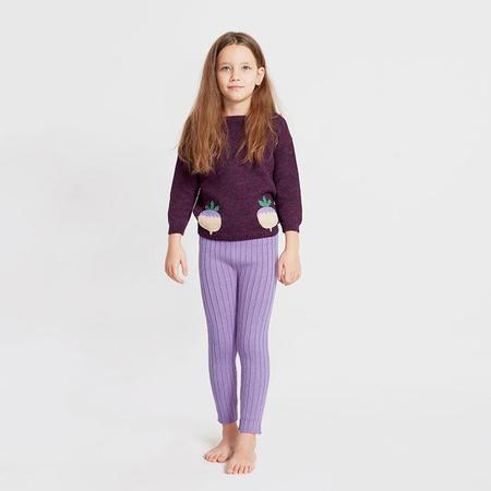 KIDS Oeuf NYC Baby Everyday Pants - Lilac Purple