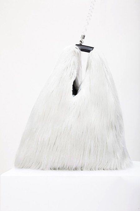 Mm6 Maison Margiela Fluffy Shoulder Bag