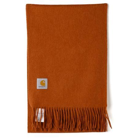 Carhartt WIP Wool Clan Scarf - Cinnamon