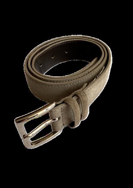 Orciani Amalfi Leather Belt - Taupe