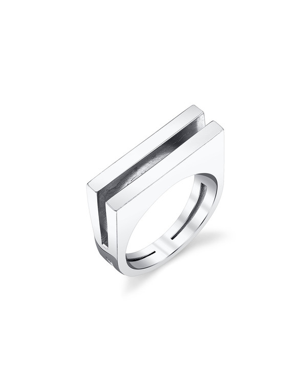 Gabriela Artigas Parallel Ring in Sterling Silver