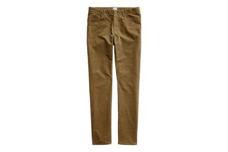 Faherty Brand Stretch Corduroy Five Pocket - Timber