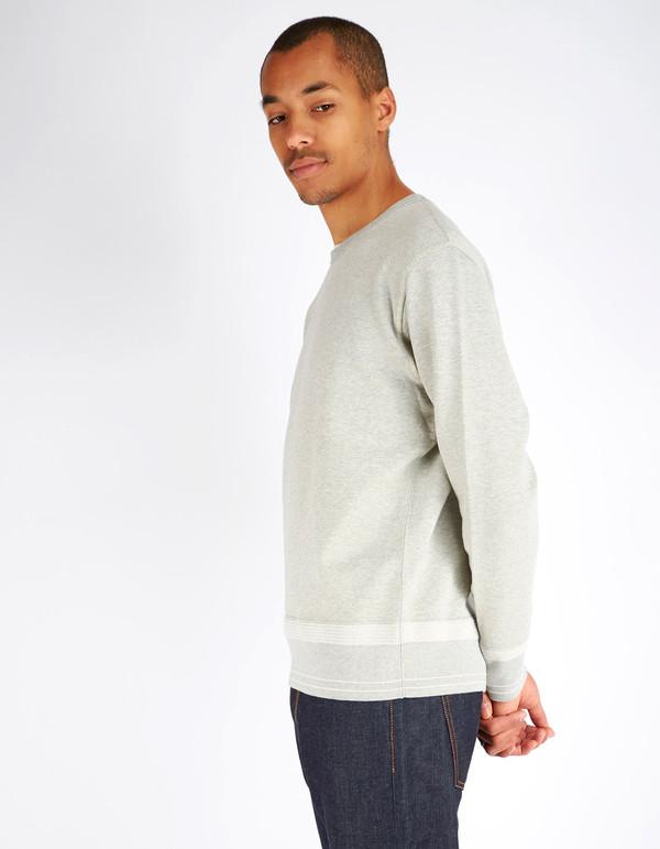 Men's Shuttle notes Furrow Crew Sweater Grey