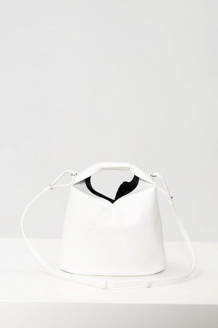 MM6 Maison Margiela Top handle tote - White