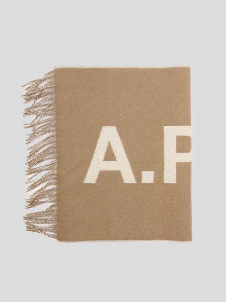 A.P.C. Angele Scarf - Camel