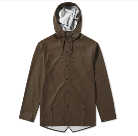 Unisex Rains Jacket - Brown