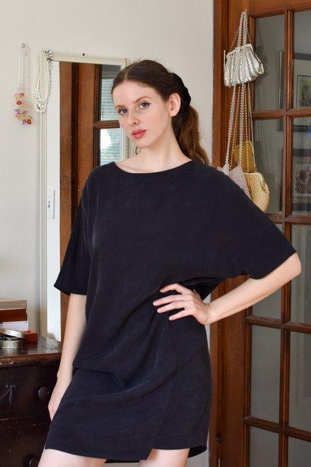 Valerie Dumaine Lavan Dress - Black