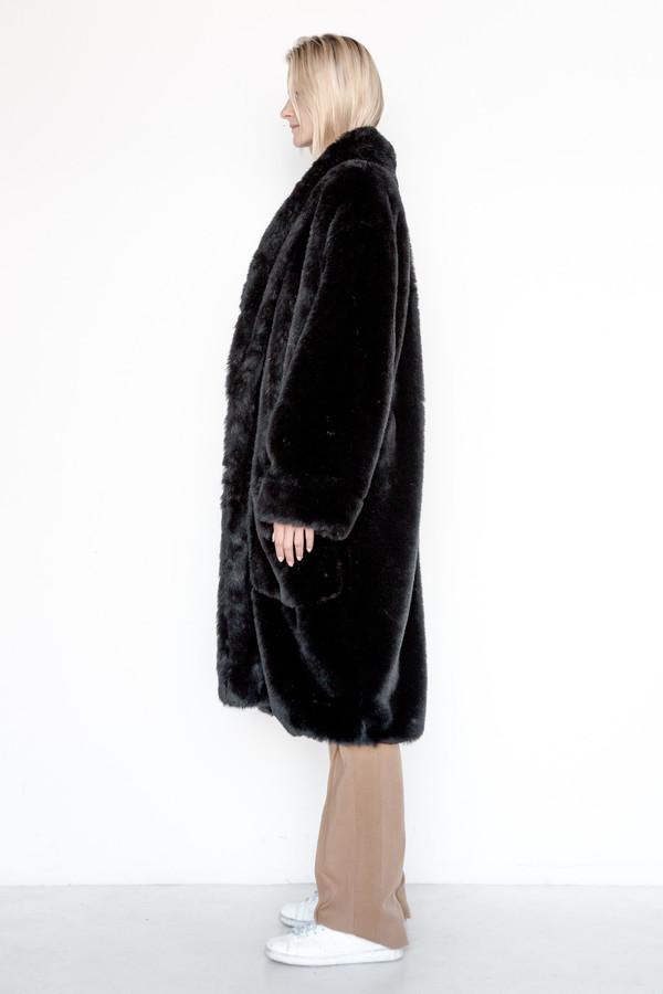 Assembly New York Faux Fur Full Robe Coat