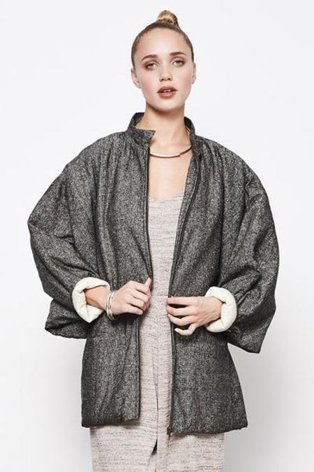 Mary Meyer Quilted Jacket - Grey
