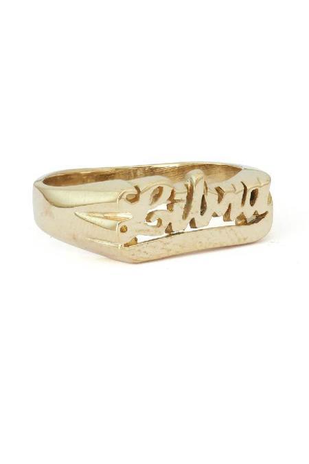Snash Zodiac Libra Ring - bronze gold