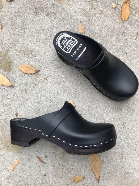 Haga Toffeln Swedish Clogs - Black