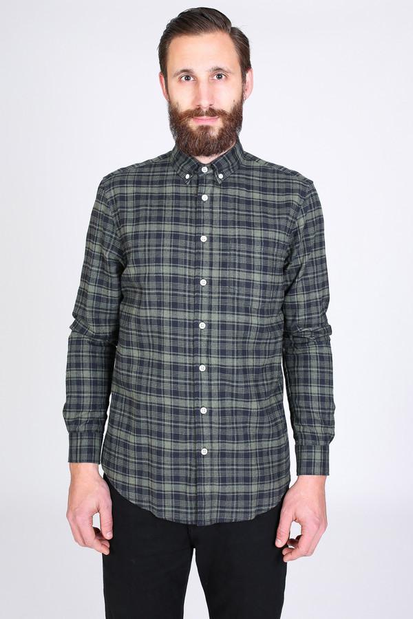 Men's Steven Alan Masters Shirt in Black Plaid