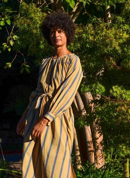 Seek Collective Caz Dress - Shoreline Stripe