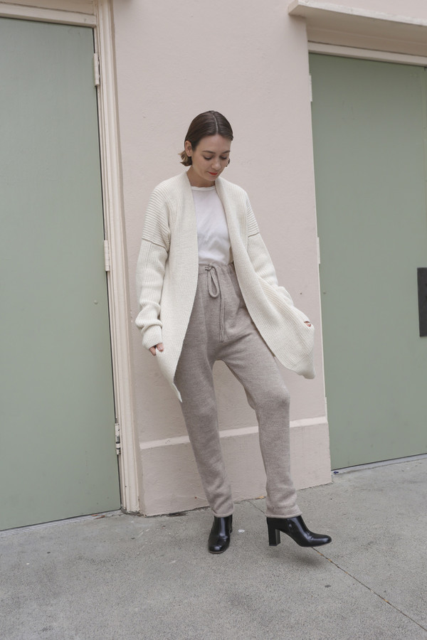 Lauren Manoogian Arch Pants in Oatmeal