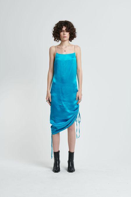 STOLEN GIRLFRIENDS CLUB Bowery Slip Dress - Blue