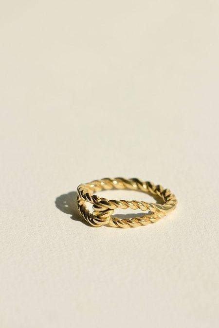 BRIE LEON Twist Knot Ring