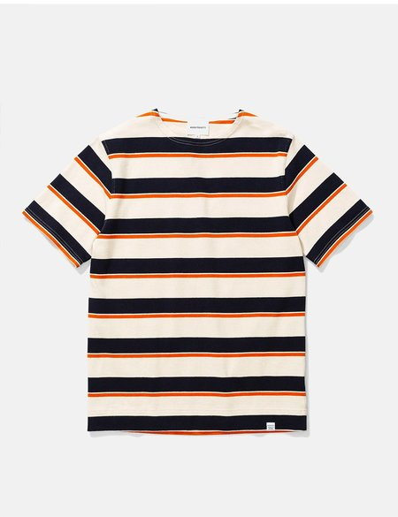 Norse Projects Godtfred Classic Compact T Shirt - Golden Orange