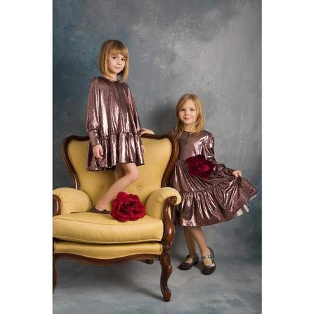 KIDS piccola ludo regina dress - rosa