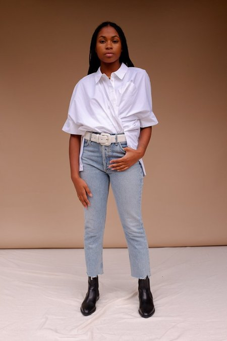 Just Female Noria Shirt - White