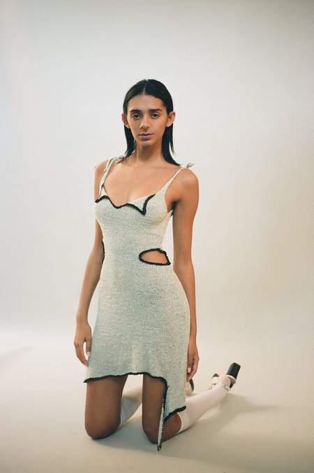 Gauntlett Cheng Flap Dress - Mint