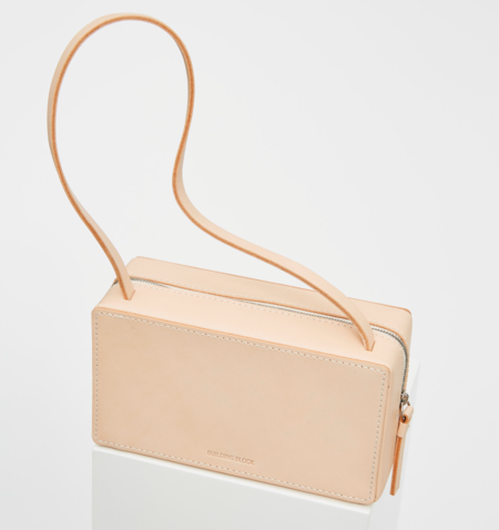 Building Block Brick Bag - Veg Tan