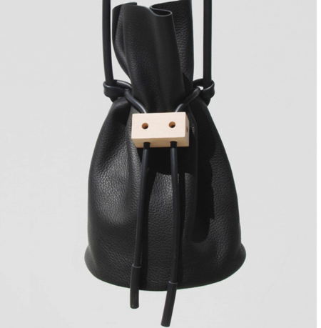 Building Block Cable Outlet Bag - Black