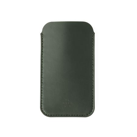UNISEX MAKR iPhone Sleeve CASE - Smooth Moss Horween
