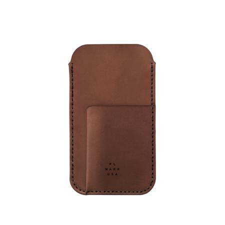 UNISEX MAKR iPhone Card Sleeve Case - Bark Horween