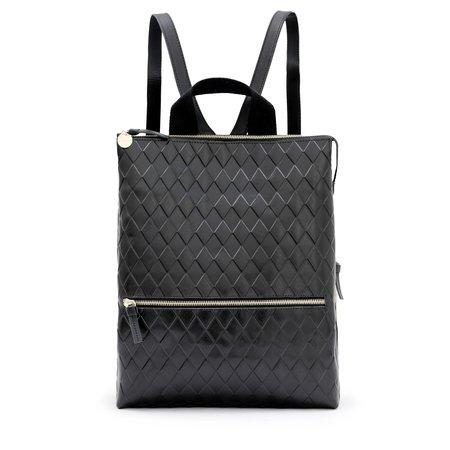 Clare V. Remi Backpack - Diamond Black