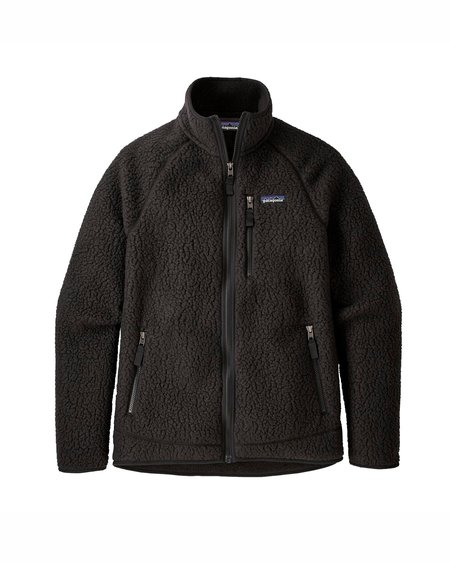 Patagonia Chaqueta Retro Pile Fleece Jacket - Black