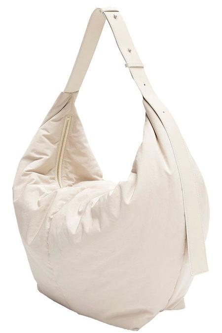 Kindersalmon Padded Shoulder Bag - Cream