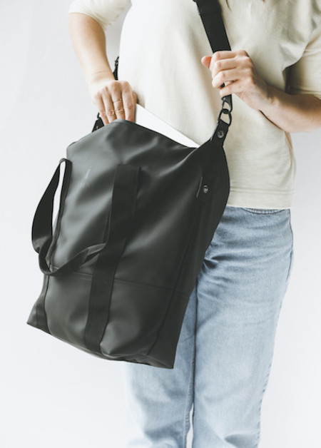 Rains City Bag - Black