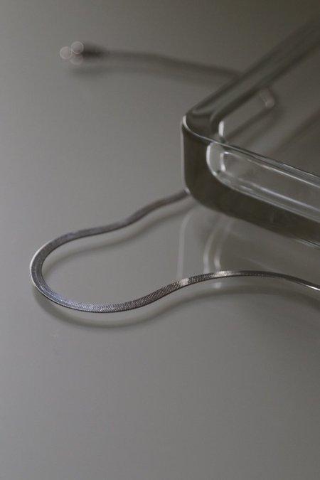 Lisbeth Herringbone Necklace - Silver
