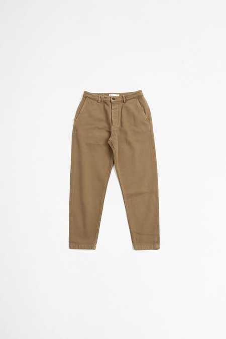 Universal Works Military chino - trio twill taupe