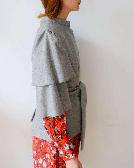 [Pre-Loved] Loeffler Randall Ruffle Jacket
