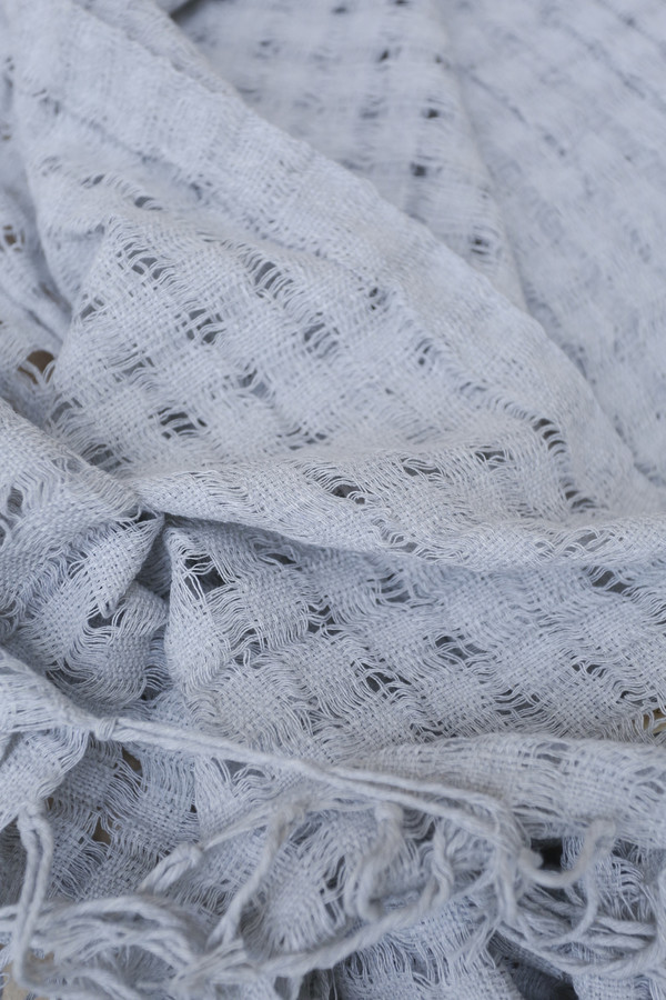Mexchic Wabi-Sabi Blanket in Grey