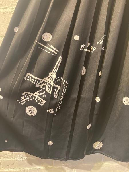 Yoshi Kondo Neo Skirt - Black